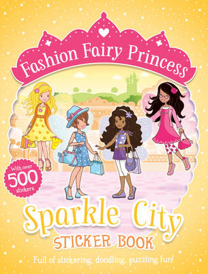 Sparkle City Sticker Book