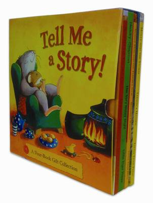 "Tell Me a Story 4 Book Giftset: ""Boswell the Kitchen Cat"", ""The Very Noisy Night"", ""Shaggy Dog and the Terrible Itch"", ""Molly and the Storm"""