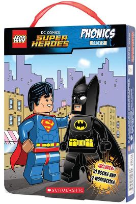 LEGO DC Superheroes: Phonics Box Set 2