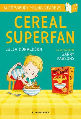 Cereal Superfan: A Bloomsbury Young Reader: Lime Book Band