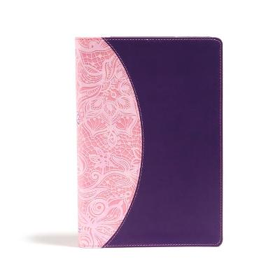 KJV One Big Story Bible, Pink/Purple LeatherTouch