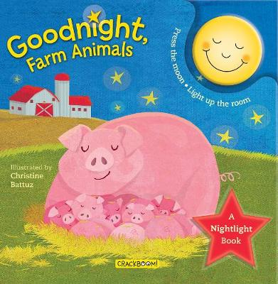 Goodnight, Farm Animals: A Nightlight Book