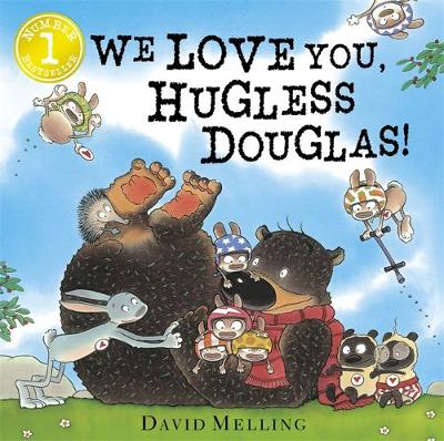 We Love You, Hugless Douglas! Board Book