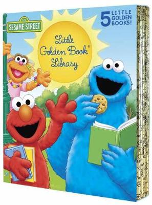 Sesame Street Little Golden Book Library 5-Book Boxed Set: My Name Is Elmo; Elmo Loves You; Elmo's Tricky Tongue Twisters; The Monster on the Bus; The Monster at the End of This Book