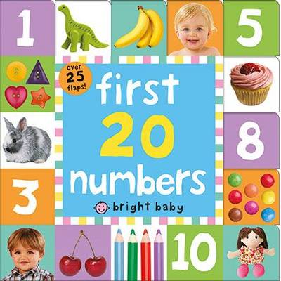 First 20 Numbers: Lift The Flap Tab Books