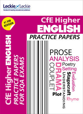Higher English Practice Papers: Prelim Papers for Sqa Exam Revision