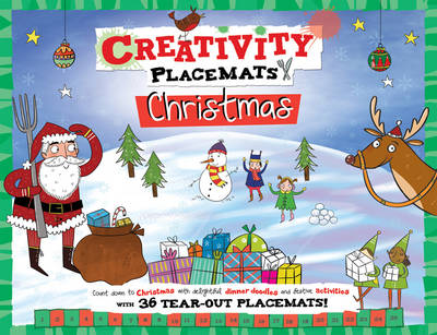 Creativity Placemats Christmas: Count Down to Christmas with 36 Tear-Out Placemats