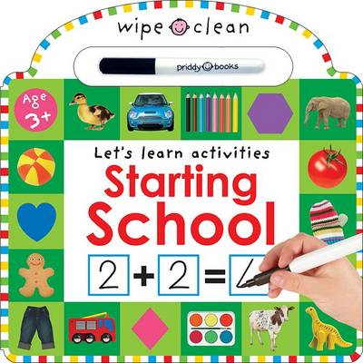Starting School: Wipe Clean Workbooks