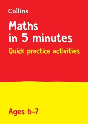 Letts Maths in 5 Minutes a Day Age 6-7