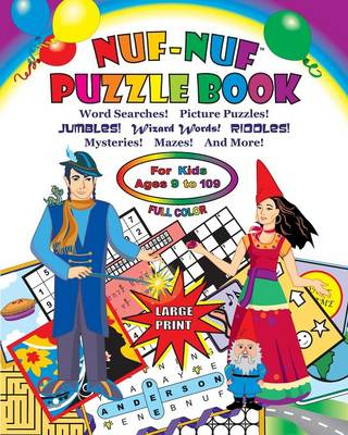 NUF-NUF PUZZLE BOOK Full Color