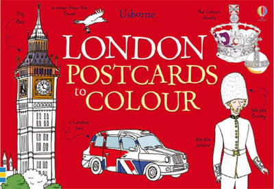 25 London Postcards to Colour
