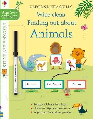 Wipe-Clean Finding Out About Animals 6-7