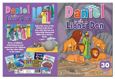 Bible Story Sticker Book for Children: Daniel in the Lions' Den