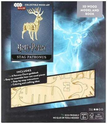IncrediBuilds: Harry Potter: Stag Patronus 3D Wood Model and Book