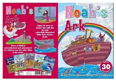 Bible Story Sticker Book for Children: Noah's Ark