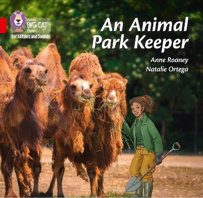 An Animal Park Keeper: Band 02b/Red B