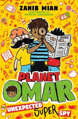 Planet Omar: Unexpected Super Spy: Book 2
