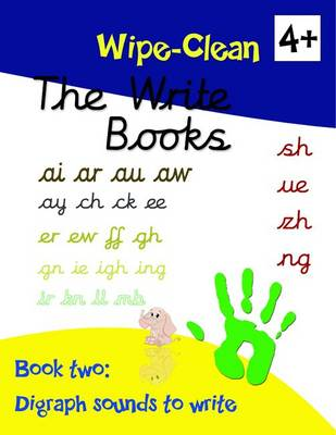 The Write Books: Digraph Sounds to Write