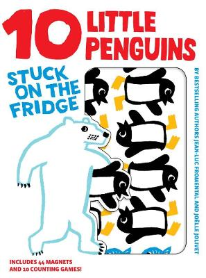 10 Little Penguins Stuck on Fridge