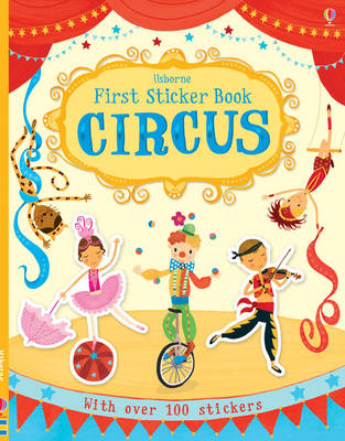 First Sticker Book Circus