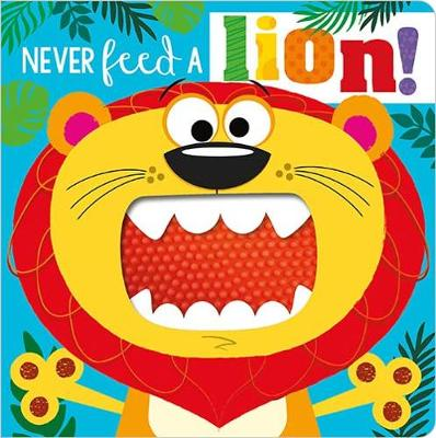 NEVER FEED A LION! BOARD BK