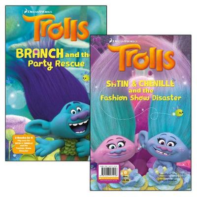 Branch and the Party Rescue and Satin & Chenille and the Fashion Show Disaster (flipbook)