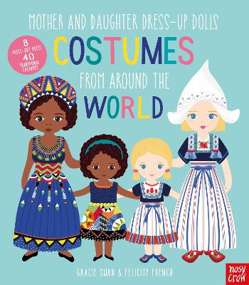 Mother and Daughter Dress-Up Dolls: Costumes From Around the World