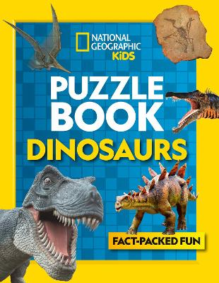 Puzzle Book Dinosaurs: Brain-Tickling Quizzes, Sudokus, Crosswords and Wordsearches