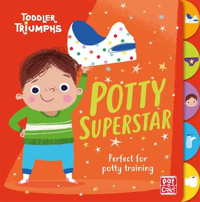Toddler Triumphs: Potty Superstar: A potty training book for boys