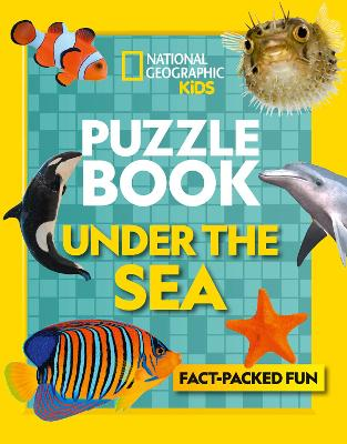 Puzzle Book Under the Sea: Brain-Tickling Quizzes, Sudokus, Crosswords and Wordsearches