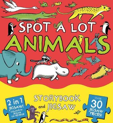 Spot A Lot Animals: Storybook and Jigsaw