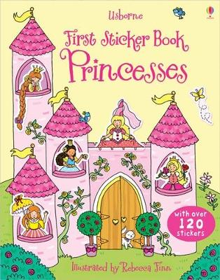 First Sticker Book Princesses
