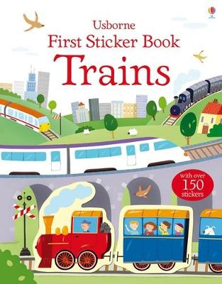 First Sticker Book Trains