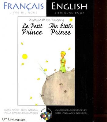The Little Prince: French/English bilingual edition with CD