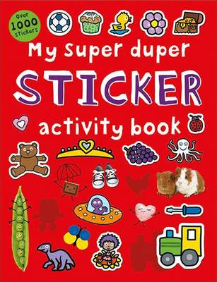 My Super Duper Sticker Activity Book: Super Dupers