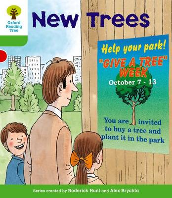 Oxford Reading Tree: Level 2: More Patterned Stories A: New Trees