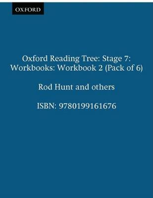 Oxford Reading Tree: Level 7: Workbooks: Workbook 2 (Pack of 6)
