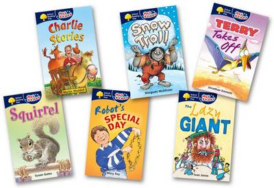 Oxford Reading Tree: All Stars: Pack 1A: Pack (6 Books, 1 of Each Title)