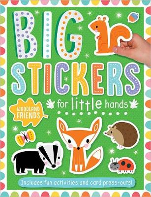 Big Stickers for Little Hands Woodland Friends