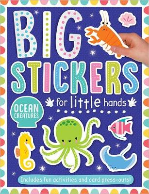 Big Stickers for Little Hands Ocean Creatures