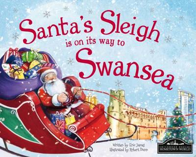Santa's Sleigh is on its Way to Swansea