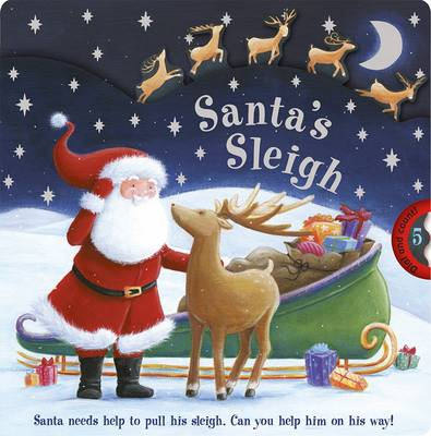 Santa's Sleigh: Santa Needs Help to Pull His Sleigh. Can You Help Him on His Way!
