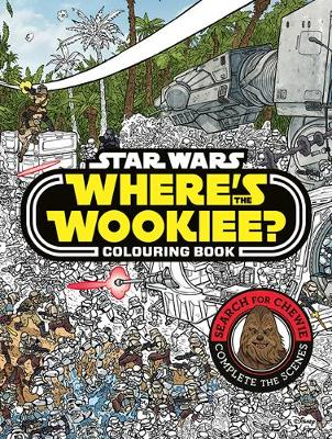 Where's the Wookiee? Colouring Book
