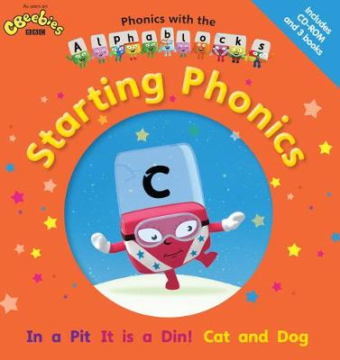 Phonics with the Alphablocks: Starting Phonics for children age 3-5 (Pack of 3 reading books, eBook CD-Rom and Parent Guide