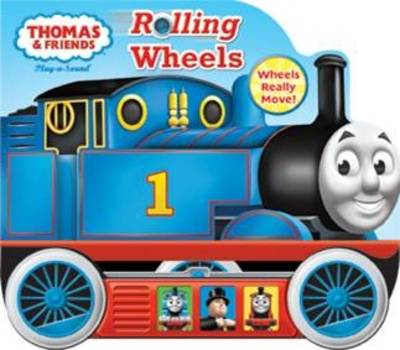 Thomas Little Vehicle Book, Rolling Wheel