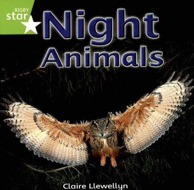 Rigby Star Independent Yr1/P2 Green Level: Night Animals (3 Pack)