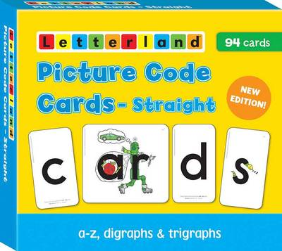 Straight Picture Code Cards