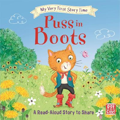 My Very First Story Time: Puss in Boots: Fairy Tale with picture glossary and an activity