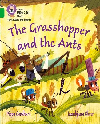 The Grasshopper and the Ants: Band 5/Green
