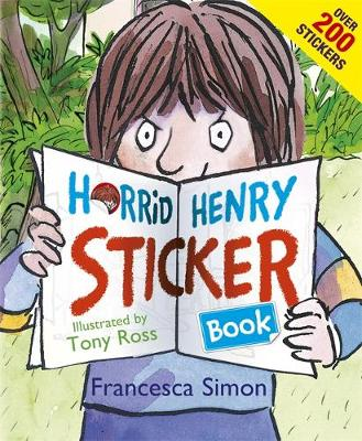 Horrid Henry Sticker Book: Over 200 Stickers!